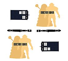 Doctor Who Pattern 1 Photographic Print
