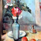 Flowers and apples by Lorenzo Castello