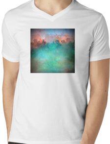 A Hazy Morning Landscape Mens V-Neck T-Shirt