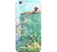 Laureana Cilento: green house and flowering trees iPhone Case/Skin