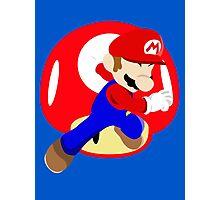 Super Smash Bros Mario Photographic Print