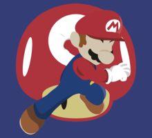 Super Smash Bros Mario by Dori Designs