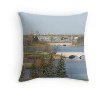 Winnipeg from Kilcona Park Throw Pillow