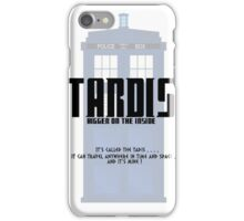 The Tardis Bigger on the Inside iPhone Case/Skin