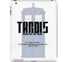 The Tardis Bigger on the Inside iPad Case/Skin