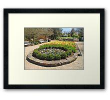 Tulip Time In Mill Creek Park Framed Print