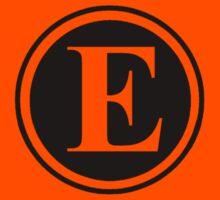 Circle Monogram E Kids Clothes