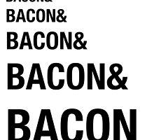 Funny Bacon Ampersands Shirt Humor Nerdy by artbyjane
