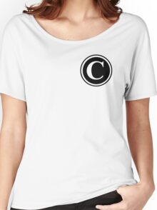 Circle Monogram C Women's Relaxed Fit T-Shirt