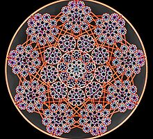 'Child Web Mandala 2' by Scott Bricker