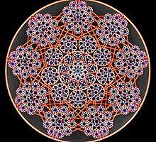 'Child Web Mandala 2' by Scott Bricker