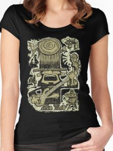 Ye Old Legend Of Rock, Circa 1855 Women's Fitted Scoop T-Shirt