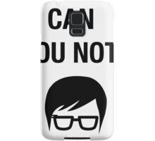 Hipster Meme Funny Shirt Irony Humor Glasses Sarcastic Samsung Galaxy Case/Skin