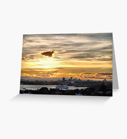 'Pacific Dawn' P&O Cruises Australia Greeting Card