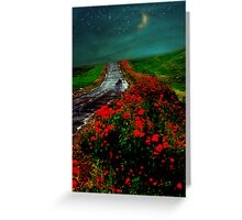 Poppy Picker Greeting Card