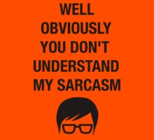 Nerd Funny Hipster Shirt Sarcasm Insult Humor Kids Tee