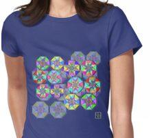 """""""Clebsch Hypercubes""""© Womens Fitted T-Shirt"""
