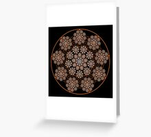 'Child Web Mandala' Greeting Card
