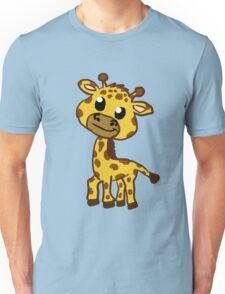 Baby Giraffe Cartoon Unisex T-Shirt