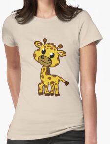 Baby Giraffe Cartoon T-Shirt