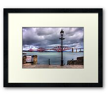 The Boathouse Steps Framed Print