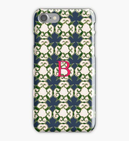 The Venetian Print - B iPhone Case/Skin