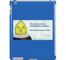 Lemon Party iPad Case/Skin