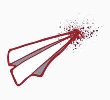 Cupid romance paper origami  airplane crash  Baby Tee