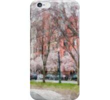 Back Bay Boston Watercolor iPhone Case/Skin