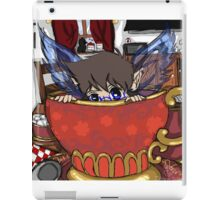 Windy Breakfast Time Visitor iPad Case/Skin