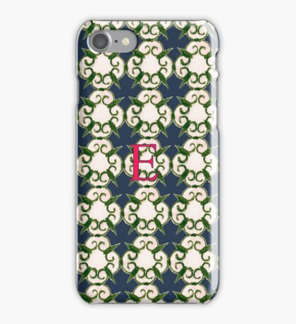 The Venetian Print - E iPhone Case/Skin