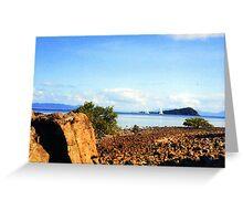 Hayman island Greeting Card