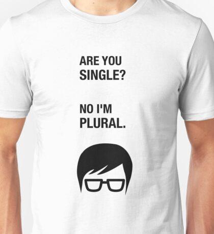 Hipster Shirt Funny Dating Single Sarcasm Humor Unisex T-Shirt