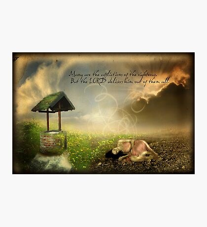 Many are the Afflictions Photographic Print
