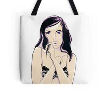 lingerie girl Tote Bag