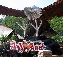 Wild Eagle, Dollywood by coasterfan94