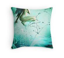 Pearl's ride Throw Pillow