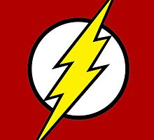 The Flash - Symbol The Flash  by TylerMellark