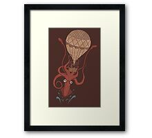Around the World in 20,000 Leagues Framed Print