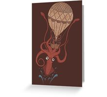 Around the World in 20,000 Leagues Greeting Card