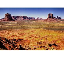Monument Valley from Artist's Point Photographic Print