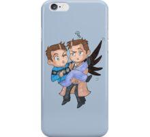 Misha and Castiel iPhone Case/Skin