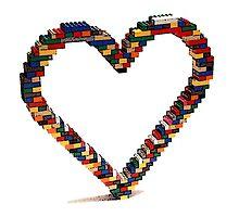 Lego Heart by Ploob