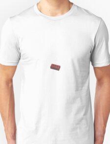 Minimalist Red Lego Brick Unisex T-Shirt