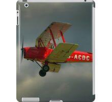 DH82a - DE HAVILLAND TIGER MOTH / G-ACDC (DELTA CHARLIE)  iPad Case/Skin
