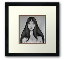 The Water Serpent,1985 Framed Print