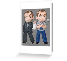 Mark and Crowley Greeting Card