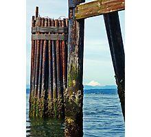 Mukilteo Pier Photographic Print