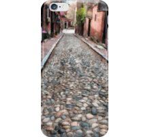 Cobblestone Streets of Boston iPhone Case/Skin