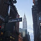 grand central station & chrysler building by paolo amiotti